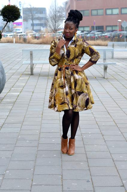 handmade Ankara jacket