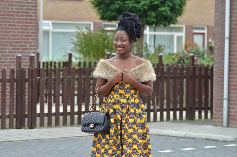 AFRICAN PRINT MAXI DRESS (ANKARA) INSPIRED
