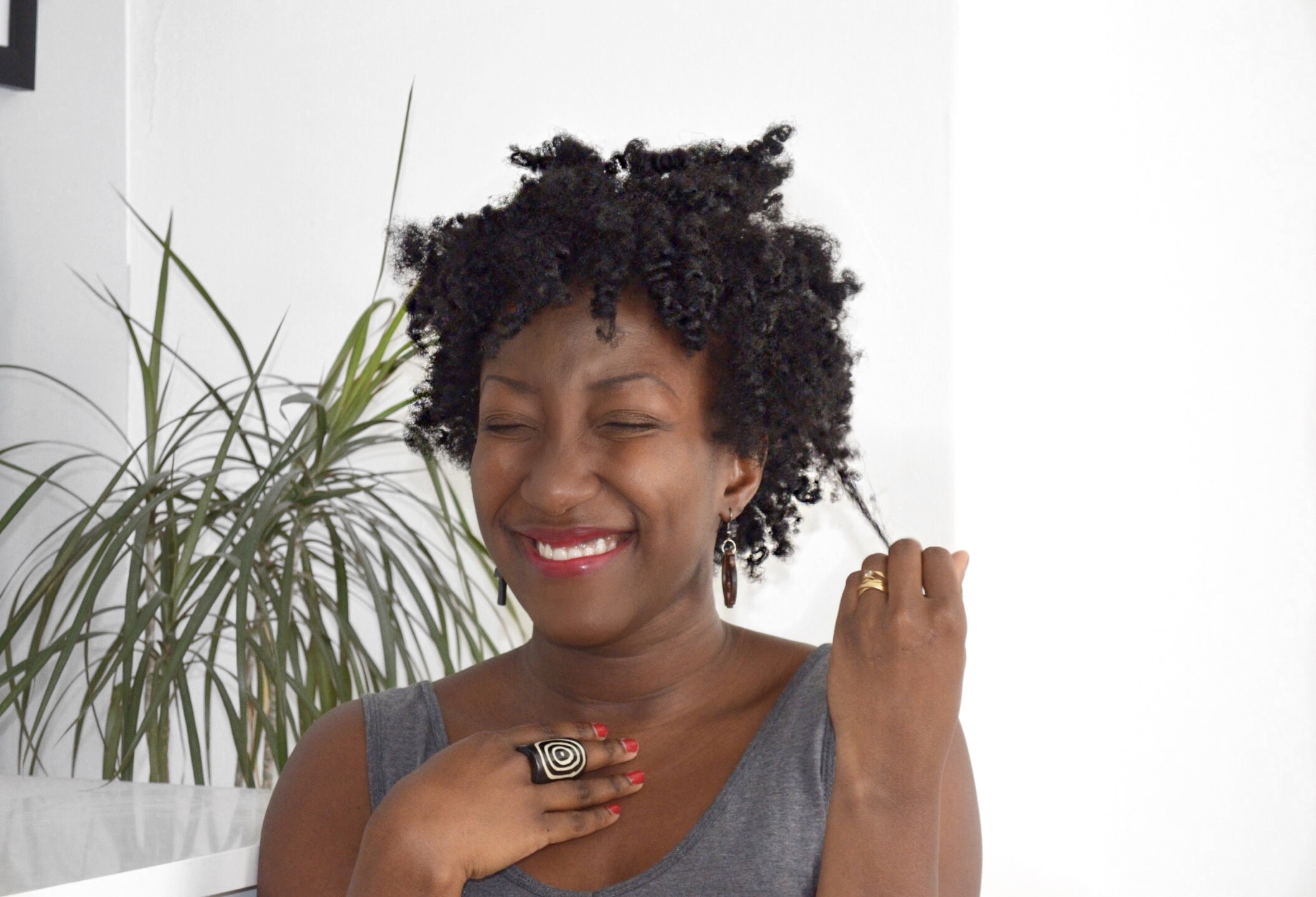 Bantu Knots Out On Thinfine Natural Hair 4c Adede